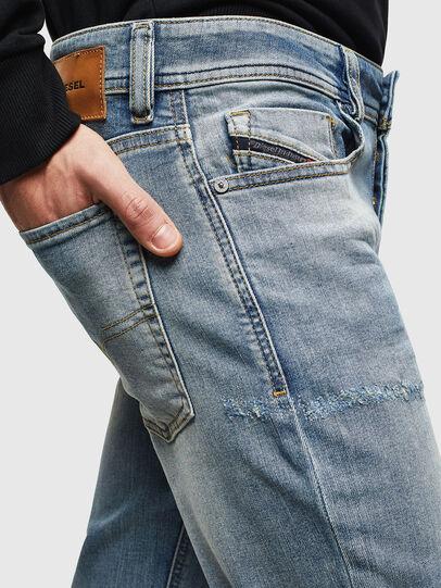 Diesel - Sleenker CN057, Bleu Clair - Jeans - Image 5