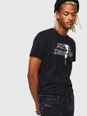 T-DIEGO-J25, Noir - T-Shirts