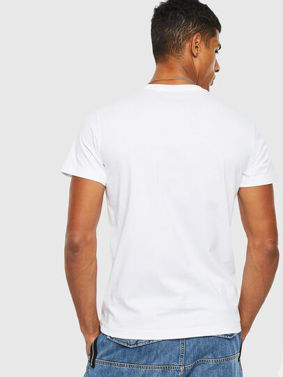 Diesel - T-DIEGO-S13, Blanc - T-Shirts - Image 2
