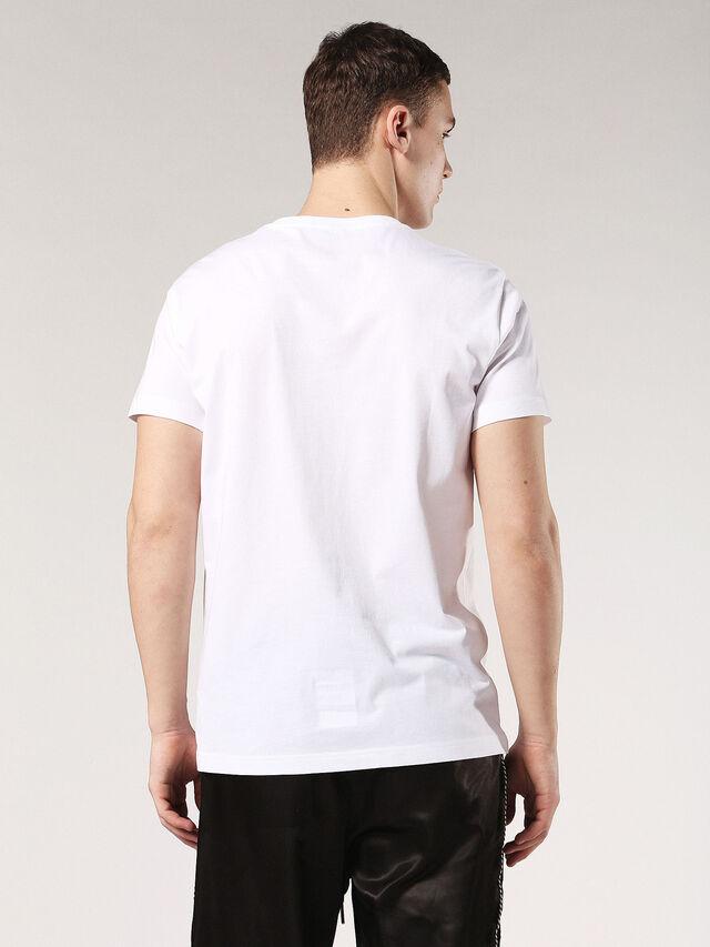 T-DIEGO-SM, Blanc