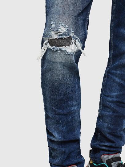 Diesel - Tepphar 0090G, Bleu Foncé - Jeans - Image 5