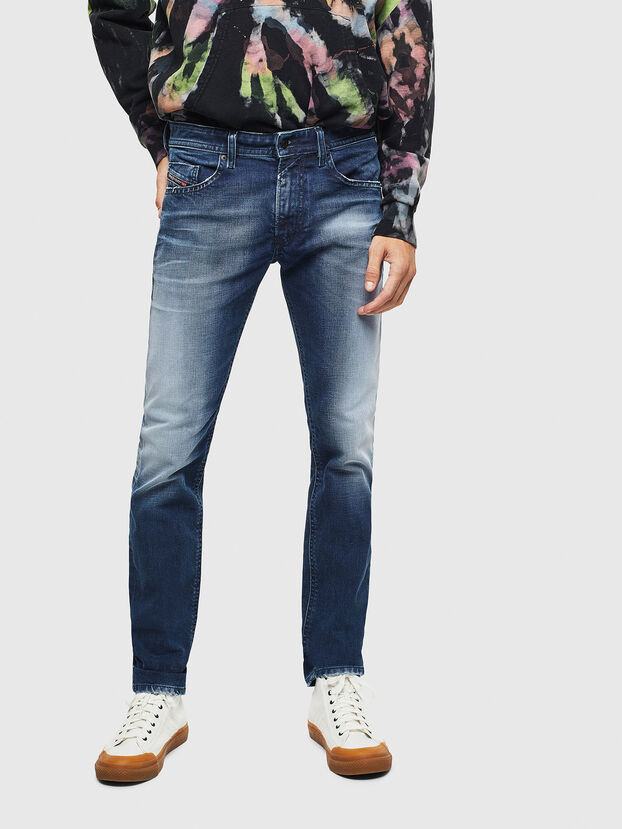 Thommer 009BQ, Bleu Foncé - Jeans