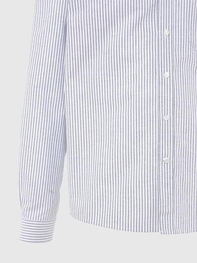 Diesel - S-JAMES-A, Bleu/Blanc - Chemises - Image 4