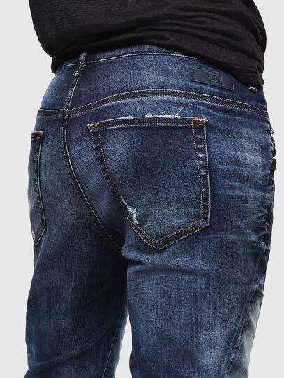 Diesel - Fayza JoggJeans 069KD, Bleu Foncé - Jeans - Image 4
