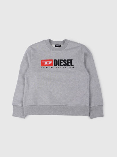 Diesel - SCREWDIVISION OVER, Gris - Pull Cotton - Image 1