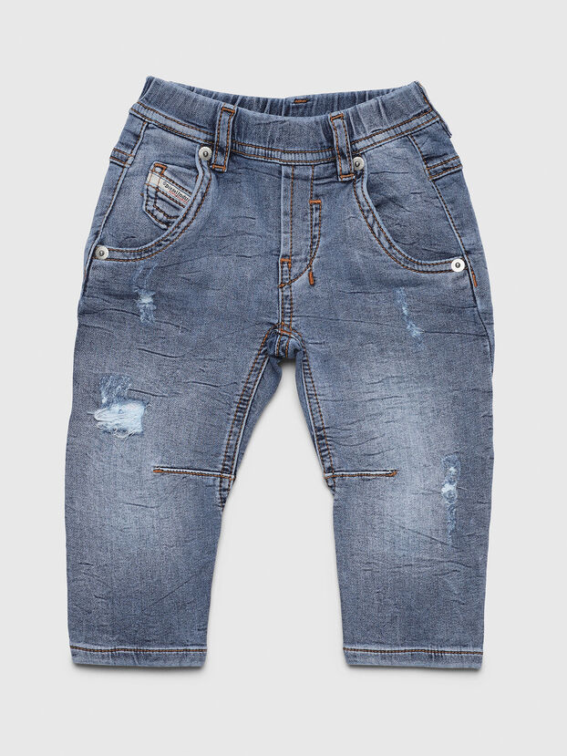 FAYZA JOGGJEANS B-N, Bleu Clair - Jeans