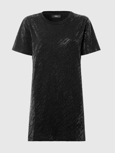 Robe-t-shirt avec micro-clous