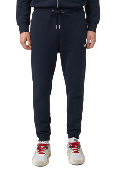 Pantalon de survêtement avec empiècement en caoutchouc