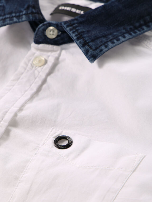 KIDS CYMELDN, Blanc - Chemises - Image 3