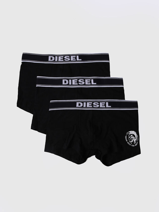 Diesel - UMBX-SHAWNTHREEPACK, Noir - Boxeurs courts - Image 1