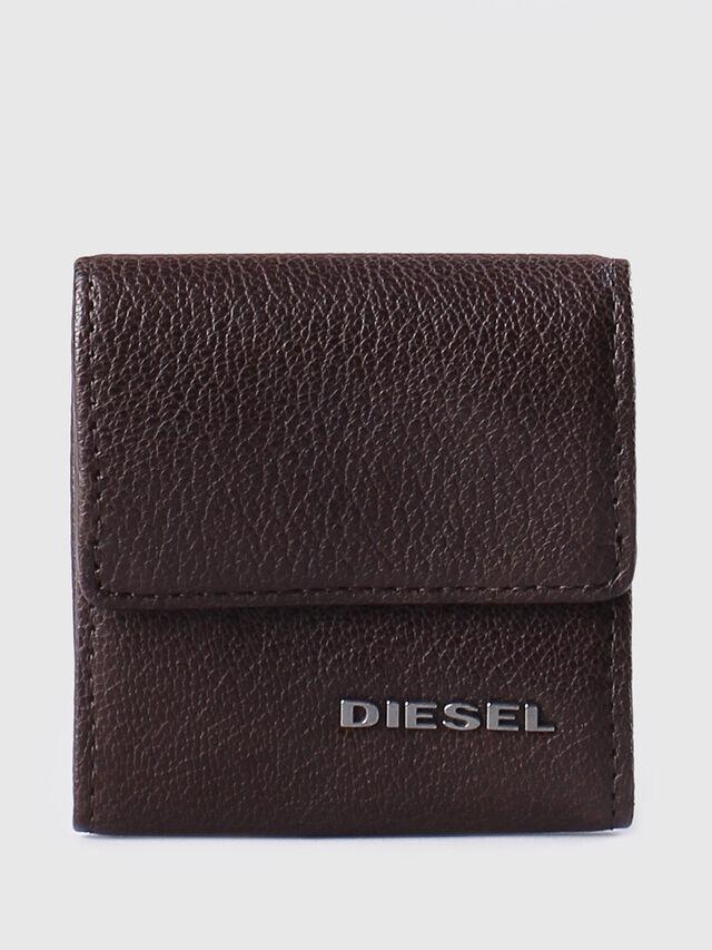 Diesel - KOPPER, Marron Foncé - Petits Portefeuilles - Image 1
