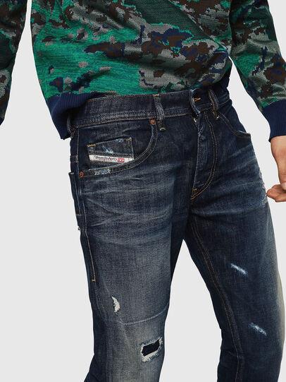 Diesel - Thommer 0890W, Bleu Foncé - Jeans - Image 3