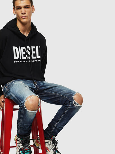 Diesel - D-Strukt 084AD, Bleu moyen - Jeans - Image 4