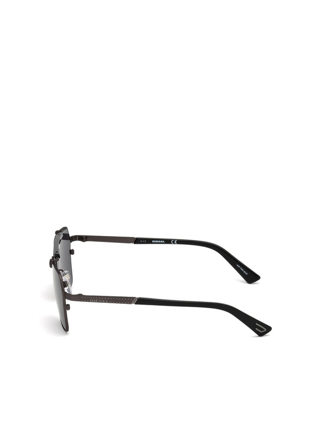 Diesel - DL0256, Noir - Lunettes de soleil - Image 3