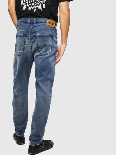 Diesel - D-Vider JoggJeans 069LW, Bleu Foncé - Jeans - Image 2