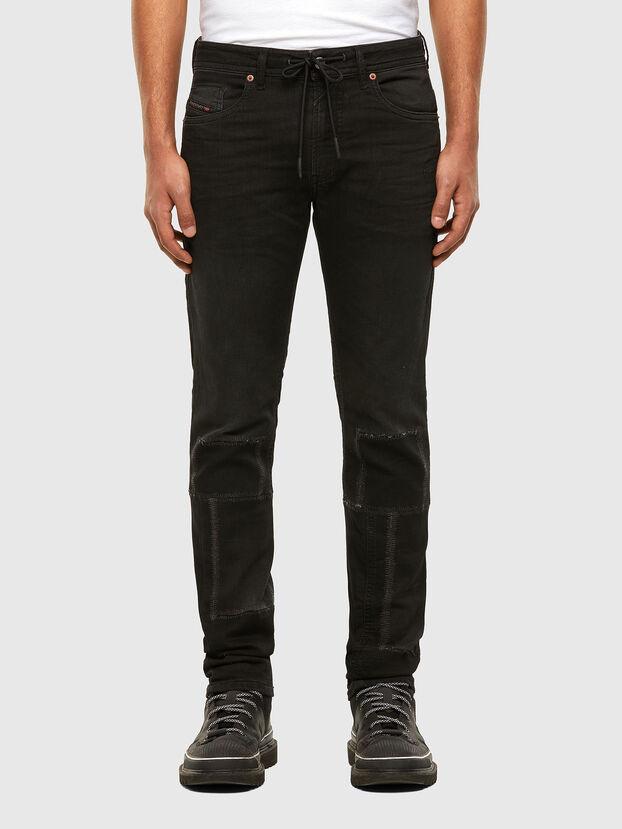 Thommer JoggJeans 009IC, Noir/Gris foncé - Jeans