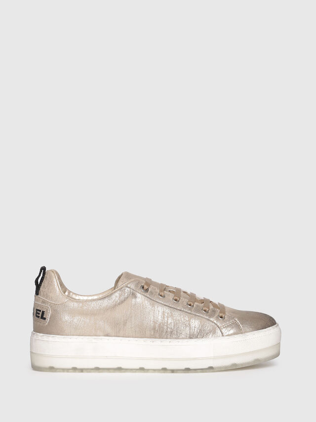 Diesel - S-LENGLAS LOW LACE, Or - Baskets - Image 1