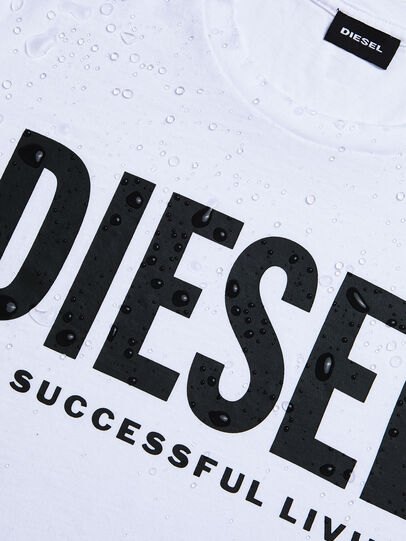 Diesel - T-DIEGO-LOGO, Blanc - T-Shirts - Image 4