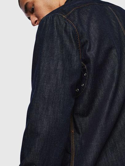 Diesel - D-MILLY, Bleu Foncé - Chemises en Denim - Image 6