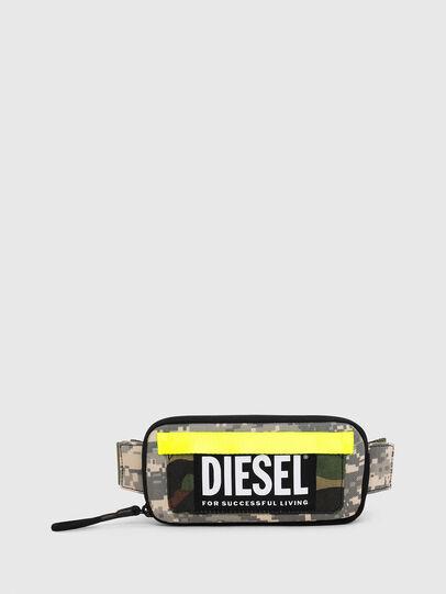 Diesel - BELT RUBBER CASE BIG, Vert Camouflage - Portefeuilles Continental - Image 1