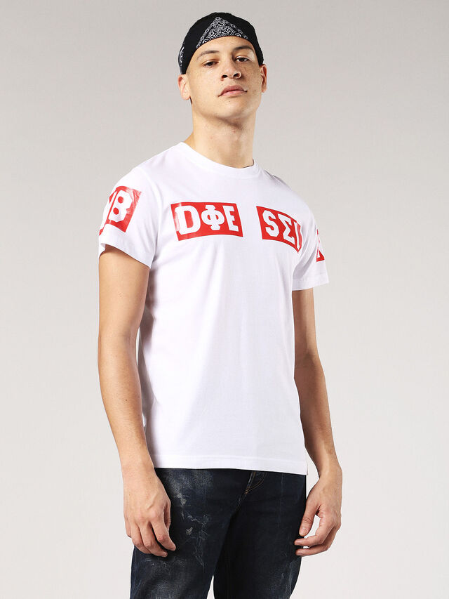 T-DIEGO-SO, Blanc