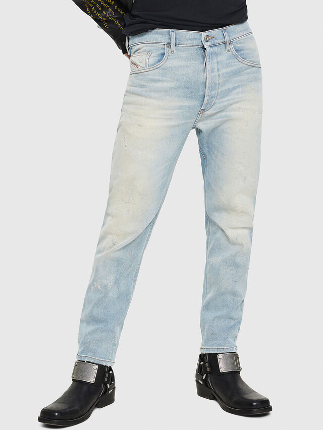 Diesel - D-Eetar 081AK, Bleu Clair - Jeans - Image 1