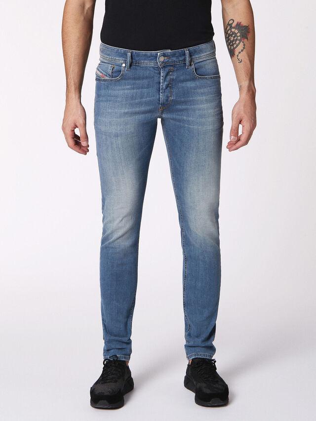 Diesel - Sleenker 084RV, Jean Bleu - Jeans - Image 1