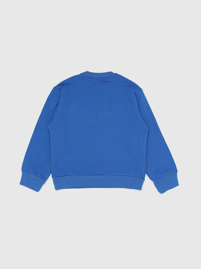 Diesel - SCREWDIVISION OVER, Bleu Céleste - Pull Cotton - Image 2