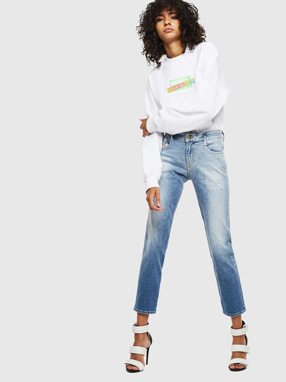 Diesel - F-ANG-S1, Blanc - Pull Cotton - Image 4