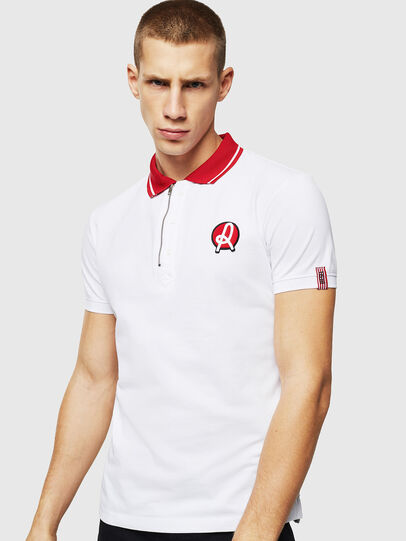 Diesel - LR-T-HART-VIC, Blanc - Polos - Image 1