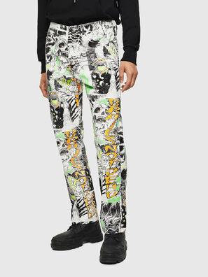 D-Macs 069KS, Blanc - Jeans