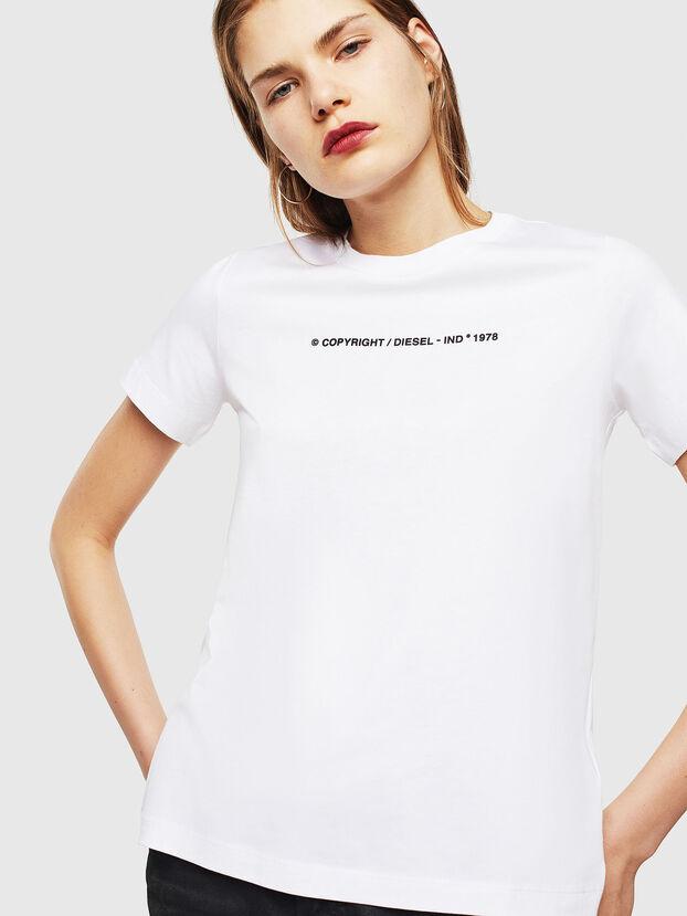 T-SILY-COPY, Blanc - T-Shirts