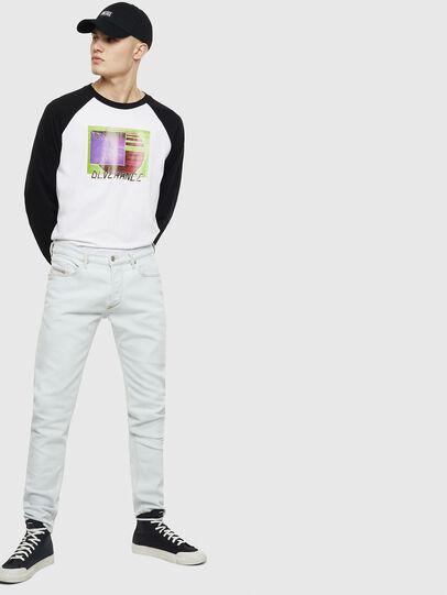 Diesel - T-RODDI, Blanc/Noir - T-Shirts - Image 5