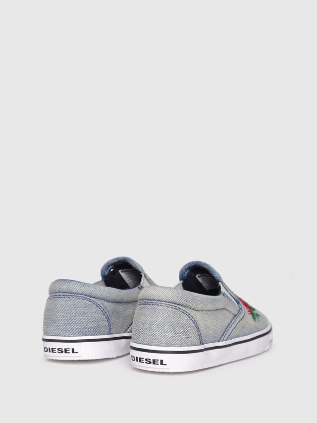 Diesel - SLIP ON 14 ROSE CH, Gris - Footwear - Image 3