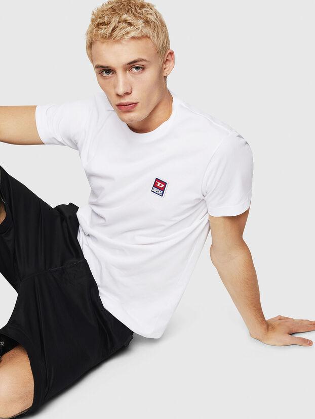 T-DIEGO-DIV, Blanc - T-Shirts