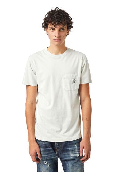 T-shirt en coton délavé