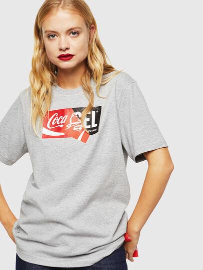 Diesel - CC-T-JUST-COLA, Gris - T-Shirts - Image 2