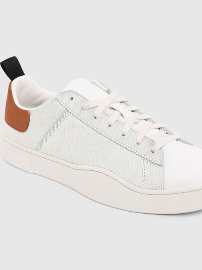 Diesel - S-CLEVER LOW LACE, Blanc/Brun - Baskets - Image 5