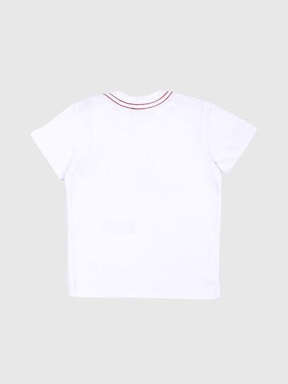 Diesel - TOQUEB MC, Blanc - T-shirts et Hauts - Image 2