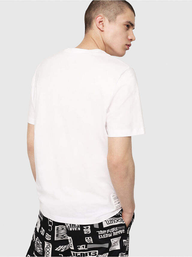 Diesel - T-JUST-Y7, Blanc - T-Shirts - Image 2