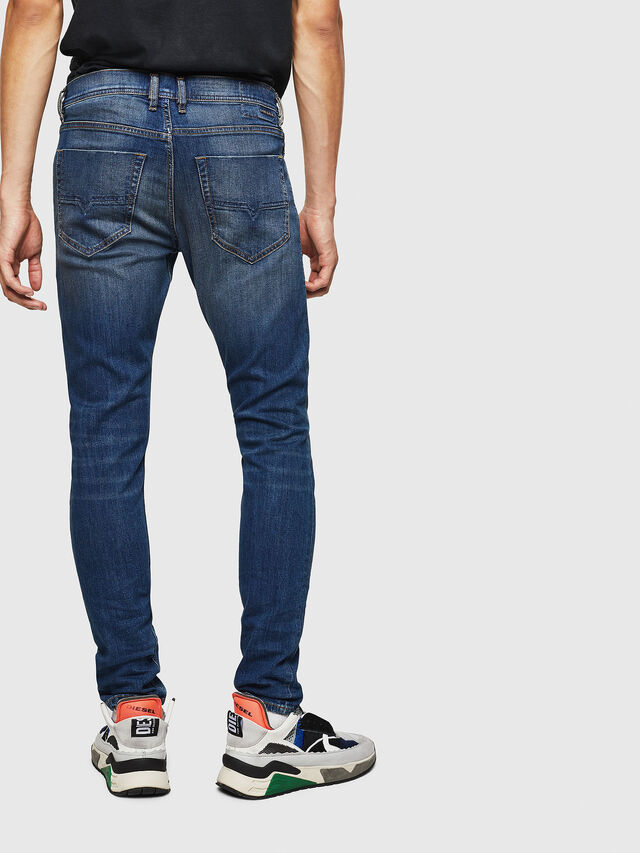 880918f463977 Diesel - Tepphar 087AW, Bleu Foncé - Jeans - Image 2