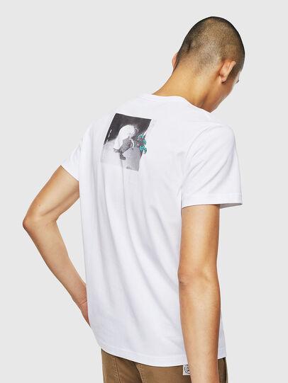 Diesel - T-DIEGO-J20, Blanc - T-Shirts - Image 3