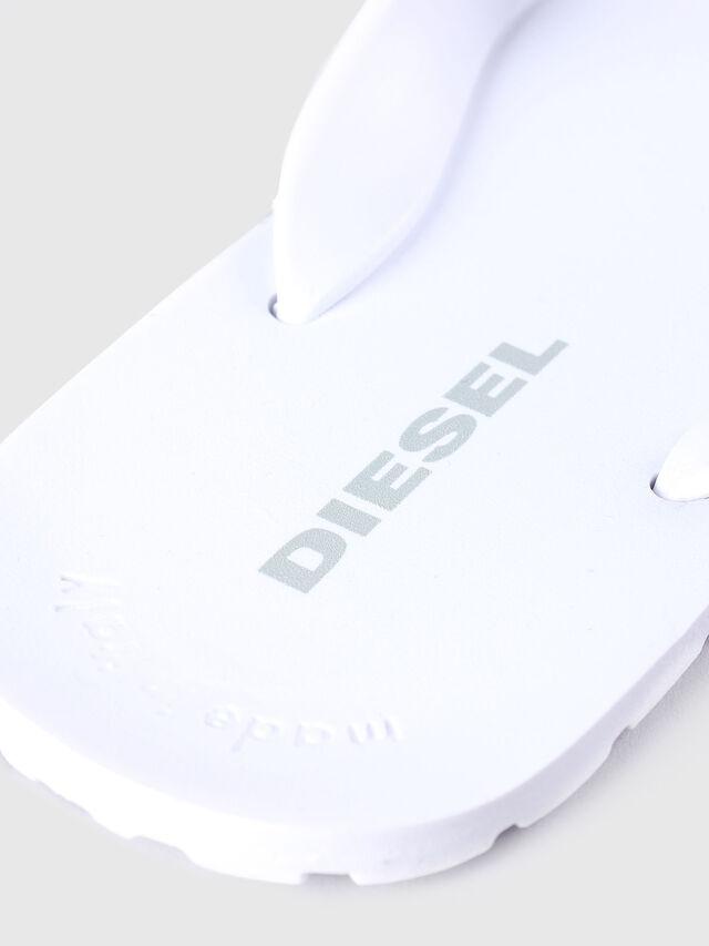 Diesel - SPLISH, Blanc - Claquettes - Image 3