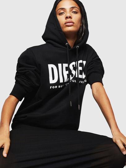 Diesel - F-GIR-HOOD-DIV-LOGO-,  - Pull Cotton - Image 4