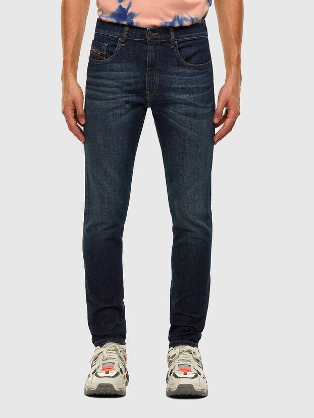 D-Strukt 009HN, Bleu Foncé - Jeans