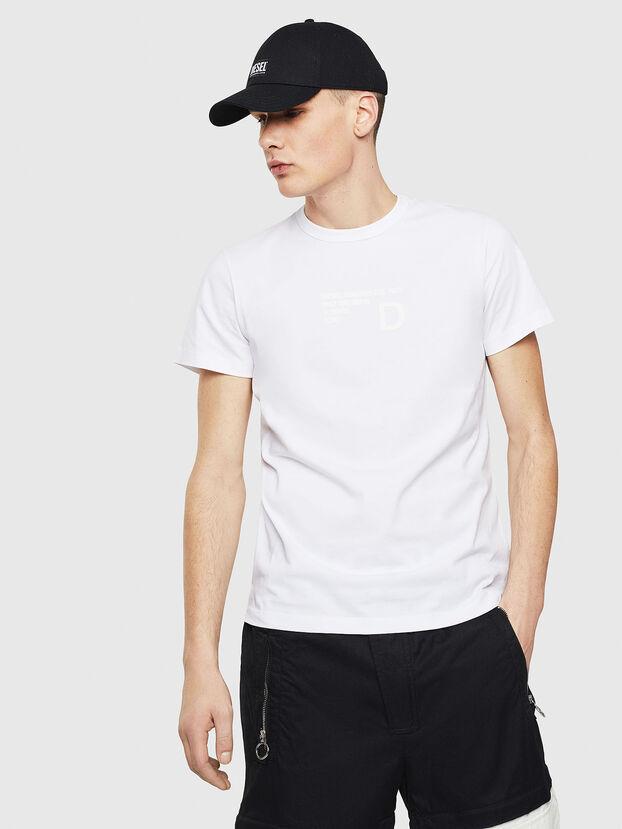 T-DIEGO-S5, Blanc - T-Shirts
