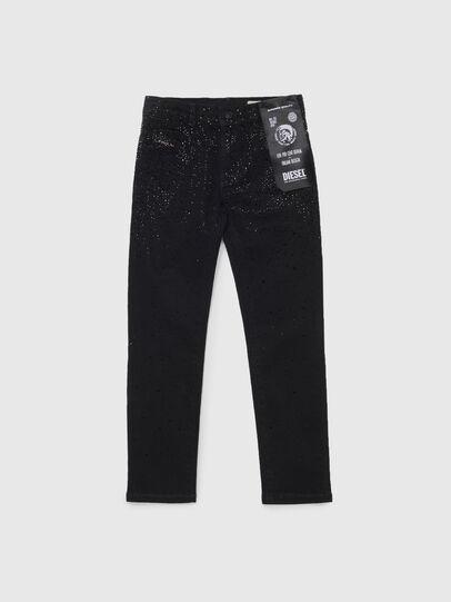 Diesel - BABHILA-J, Noir/Gris foncé - Jeans - Image 1