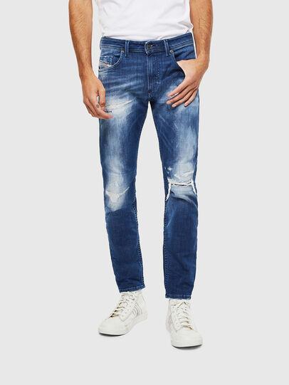 Diesel - Thommer JoggJeans 0099S, Bleu Foncé - Jeans - Image 1