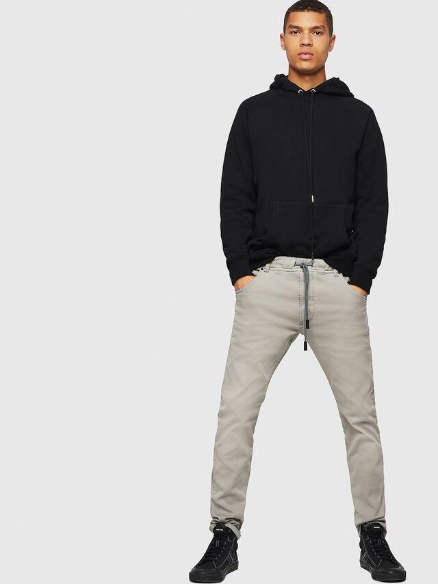 Diesel - Krooley JoggJeans 0670M, Gris Clair - Jeans - Image 5