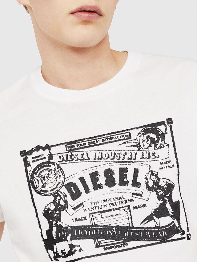 Diesel - T-DIEGO-C3, Blanc - T-Shirts - Image 3